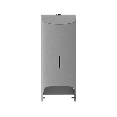 775901: Admire toiletroldispenser duo doppenrol - RVS